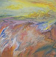 Friedhard-Meyer-Diverse-Landschaften-Fantasie-Gegenwartskunst-Gegenwartskunst