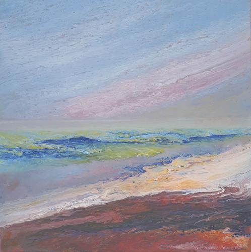 Friedhard Meyer, Weite, Diverse Landschaften, Landschaft: Ebene, Gegenwartskunst