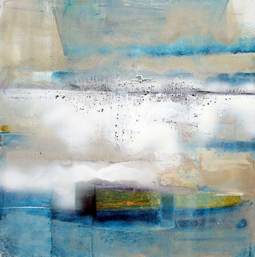 werner genitheim, o.t., Abstraktes, Gegenwartskunst, Expressionismus