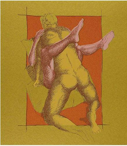 Meike Kohls, Lunch Break, Akt/Erotik: Akt Mann, Diverse Menschen, Gegenwartskunst