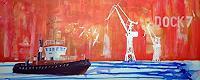 Meike-Kohls-Arbeitswelt-Landschaft-See-Meer-Moderne-Pop-Art