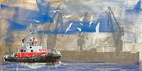 Meike-Kohls-Landschaft-See-Meer-Verkehr-Schiff-Gegenwartskunst-Gegenwartskunst