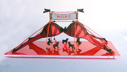 Meike Kohls, Mops Zirkus, Skurril, Diverse Erotik, Pop-Art