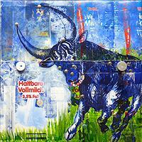 M. Kohls, Stier in der Milchstrasse