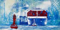 Meike-Kohls-Landschaft-See-Meer-Natur-Wasser-Moderne-Pop-Art