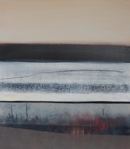 Judith Nussbaumer, Horizont, Landschaft, Landschaft, Gegenwartskunst, Expressionismus
