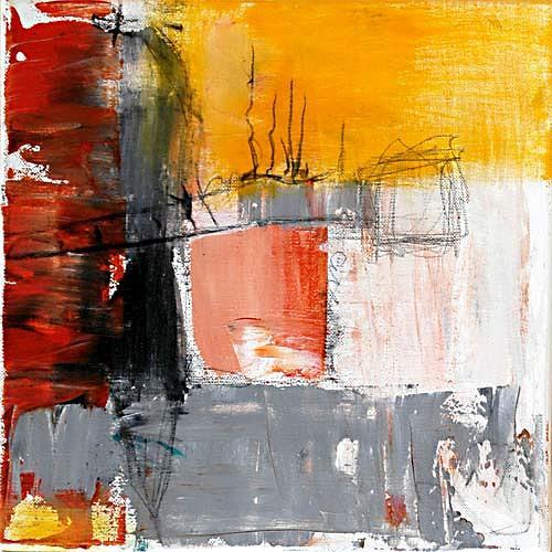 Claudia Färber, Kranarbeiten, Abstraktes, Fantasie, Colour Field Painting