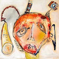 Claudia-Faerber-Abstraktes-Menschen-Gesichter-Moderne-Abstrakte-Kunst-Art-Brut