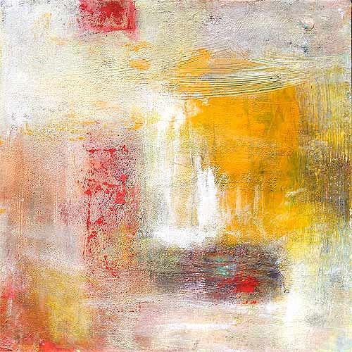 Claudia Färber, Sonnenschnee, Abstraktes, Colour Field Painting, Expressionismus