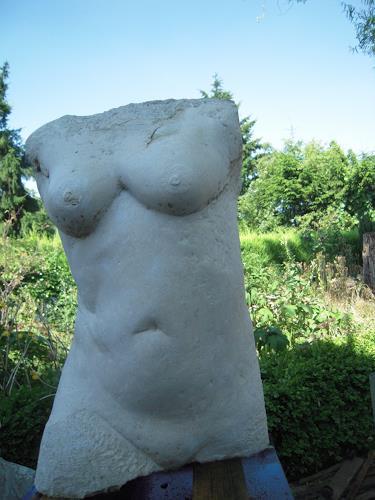 Gautam, Gabi, Akt/Erotik: Akt Frau, Bewegung, expressiver Realismus