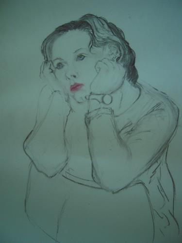 Gautam, Liebeskummer, Gefühle: Trauer, Menschen: Frau, Realismus