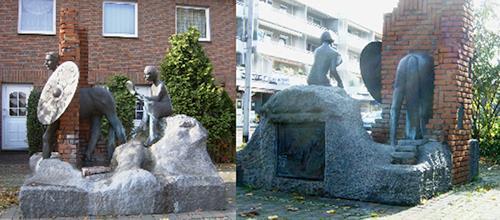 Gautam, Römerbrunnen, Geschichte, Gesellschaft, Realismus
