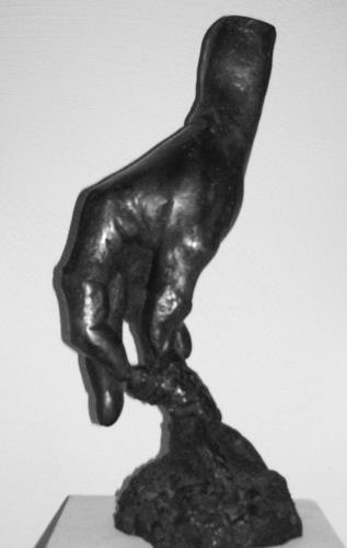 Gautam, Schöpfende Hand, Symbol, Architektur, Gegenwartskunst