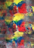 Gautam-Fantasie-Abstraktes-Gegenwartskunst-Neo-Expressionismus