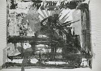 Gautam, Collage auf Zeitungsblatt