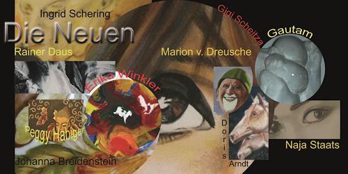 Gautam, Einladugskarte für die Gemeinschaftsausstellung in BB, Diverses, Diverses, Gegenwartskunst