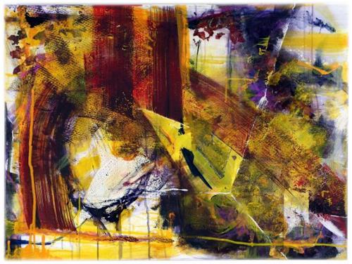 Marion Harrichhausen-Lukas, Parallelwelten, Abstraktes, Diverse Weltraum, Gegenwartskunst