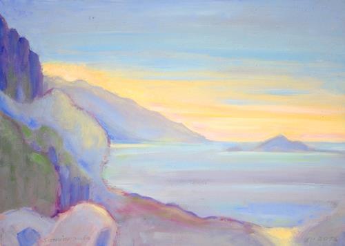 Christophorus Hardenbicker, SAMIOPOULA   JULI 2015, Landschaft, Impressionismus