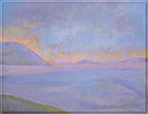 Christophorus Hardenbicker, Samio.Ende SEPT 2015, Landschaft, Landschaft, Impressionismus