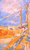Christophorus-Hardenbicker-Landschaft-Fruehling-Moderne-Impressionismus