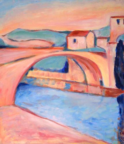 Christophorus Hardenbicker, Brücke 1986, Diverse Bauten, Expressionismus