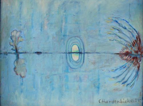 Christophorus Hardenbicker, Höhle 1984, Landschaft: Sommer, Impressionismus
