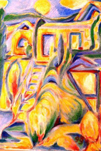 Christophorus Hardenbicker, Atelier 1999, Abstraktes, Neo-Expressionismus