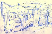 Christophorus-Hardenbicker-Landschaft-Huegel-Moderne-Impressionismus
