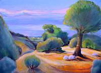 Christophorus-Hardenbicker-Landschaft-See-Meer-Moderne-Impressionismus