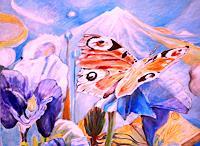 Christophorus-Hardenbicker-Pflanzen-Blumen-Moderne-Impressionismus