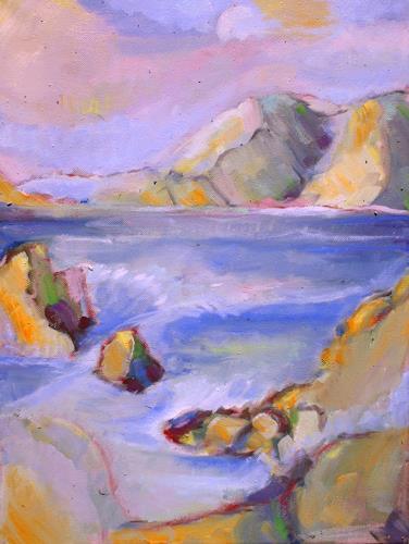 Christophorus Hardenbicker, AGHIOS IOANNIS 2014, Landschaft: See/Meer, Impressionismus