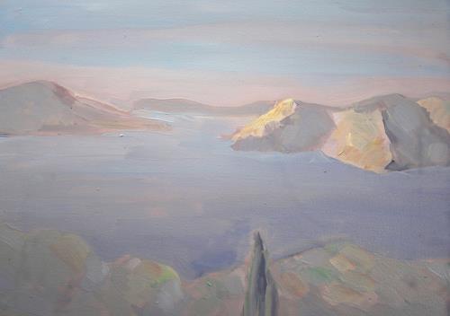 Christophorus Hardenbicker, FOURNI 2014, Landschaft: See/Meer, Impressionismus