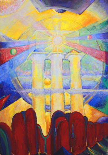 Christophorus Hardenbicker, KOMPOSITION 2014, Symbol, Impressionismus