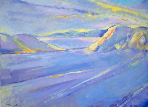 Christophorus Hardenbicker, FOURNI IM MAI 2015, Landschaft, Landschaft: See/Meer, Impressionismus