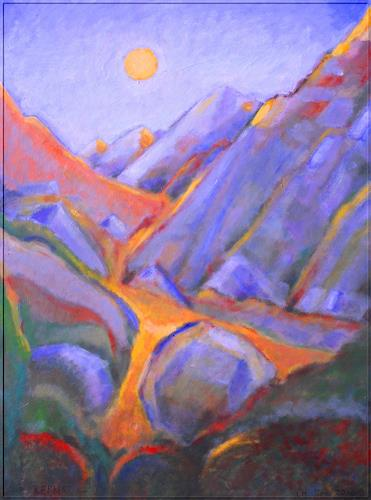 Christophorus Hardenbicker, KERKIS Jan.2016, Landschaft: Berge, Impressionismus