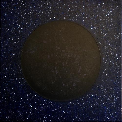 Manuela Rauber, Periode | Mondphasen 2, Weltraum: Mond, Abstraktes, Gegenwartskunst, Abstrakter Expressionismus