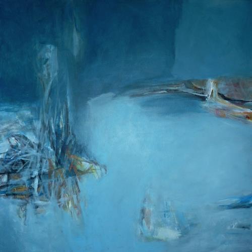 Manuela Rauber, landschaft 001, Diverse Landschaften, Abstraktes, Gegenwartskunst, Expressionismus