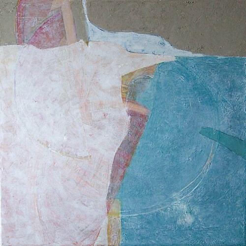 Manuela Rauber, Kreissegmente 1, Symbol, Abstraktes, Spurensicherung