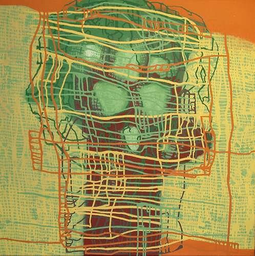 Manuela Rauber, Beziehungsnetz, Abstraktes, Menschen: Gruppe, Abstrakte Kunst, Abstrakter Expressionismus