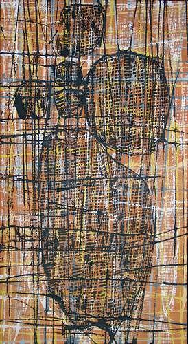 Manuela Rauber, Gedankennetz, Abstraktes, Menschen: Modelle, Abstrakte Kunst