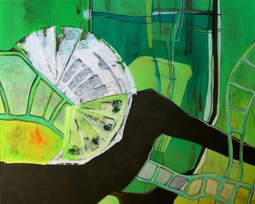 Manuela Rauber, Garten 3, Abstraktes, Natur: Diverse, Gegenwartskunst, Expressionismus