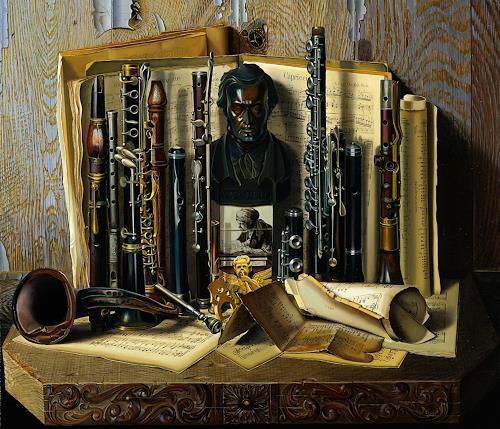 Michael Lassel, Capriccio, Musik: Instrument, Diverse Musik, Realismus, Expressionismus