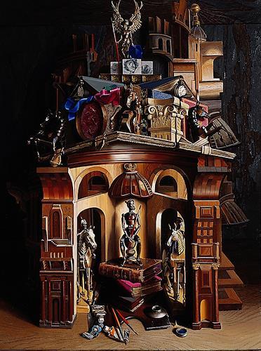 Michael Lassel, Horse Guard, Diverse Bauten, Geschichte, Realismus, Abstrakter Expressionismus