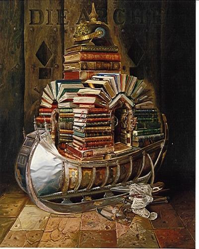 Michael Lassel, Die Arche, Religion, Stilleben, Realismus