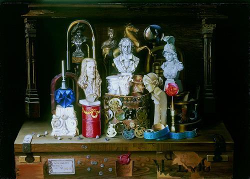 Michael Lassel, Beletage, Architektur, Stilleben, Realismus, Expressionismus