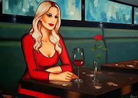 Ekaterina-More-Menschen-Frau-Diverse-Erotik-Moderne-Art-Deco
