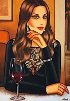 Ekaterina-More-Menschen-Frau-Gefuehle-Liebe-Moderne-Art-Deco