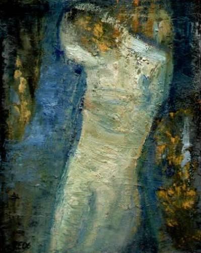 Regina Grahl, Versunken, Poesie, Poesie, Abstrakter Expressionismus