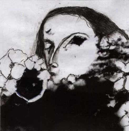 Regina Grahl, Die schönen Blumen, Menschen: Frau, Pflanzen: Blumen, Abstrakter Expressionismus