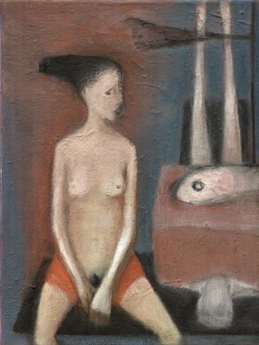Regina Grahl, Alma Abendmahler, Menschen: Frau, Akt/Erotik: Akt Frau, Abstrakter Expressionismus
